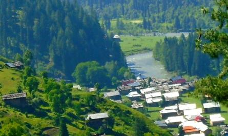 Most visited tourist places in azad kashmir