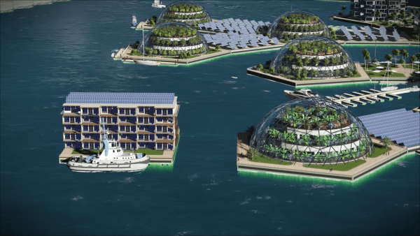 world first floating city