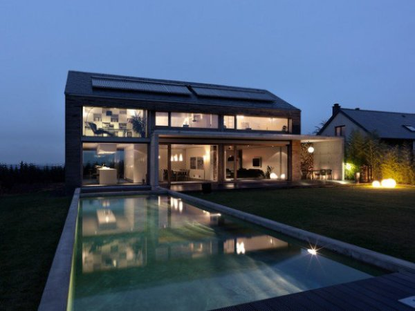 luxurious glass home plans