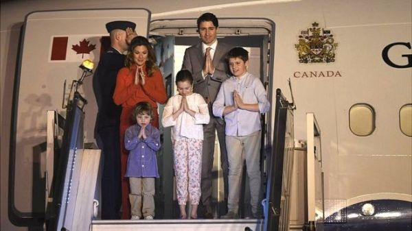 Canadian PM visit to india