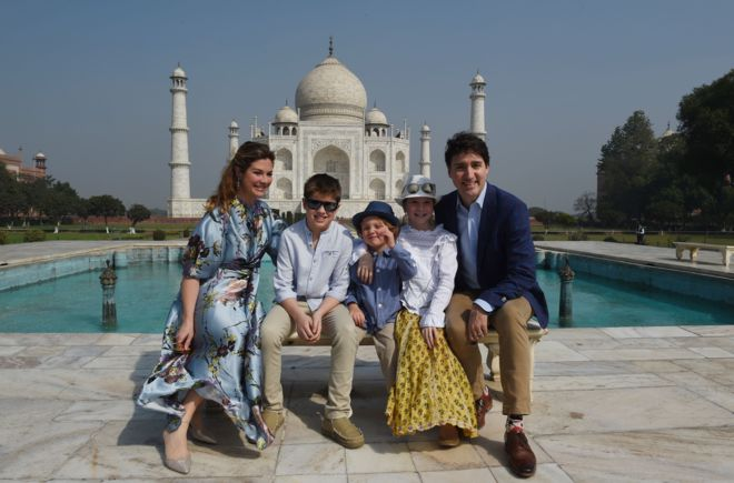 Canadian Prime Minister Visit to India