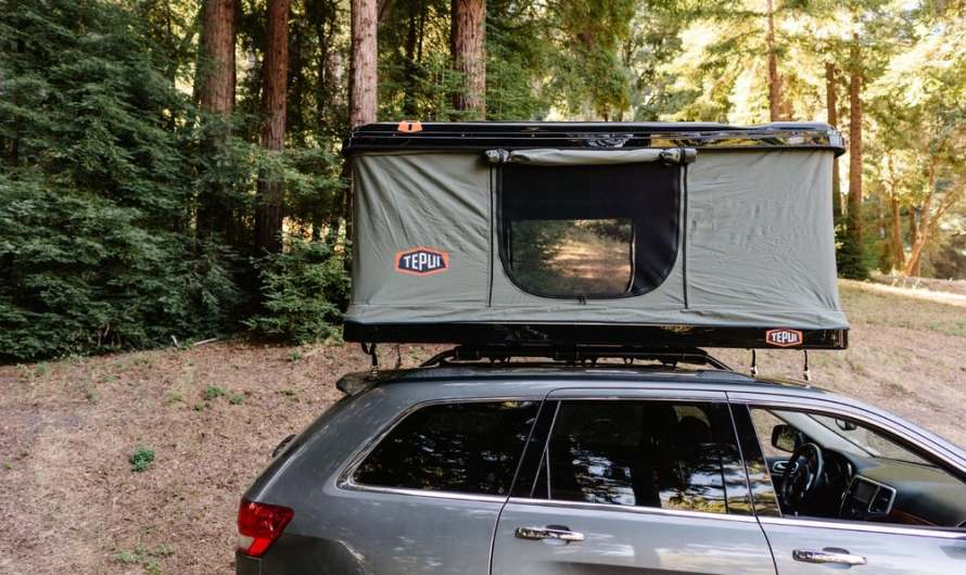 Tepui showed the HyBox an all-new Roof-Top Tent
