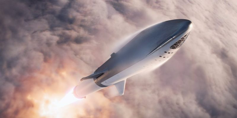 SapeceX's BFR will carry the human first time for journey to the moon