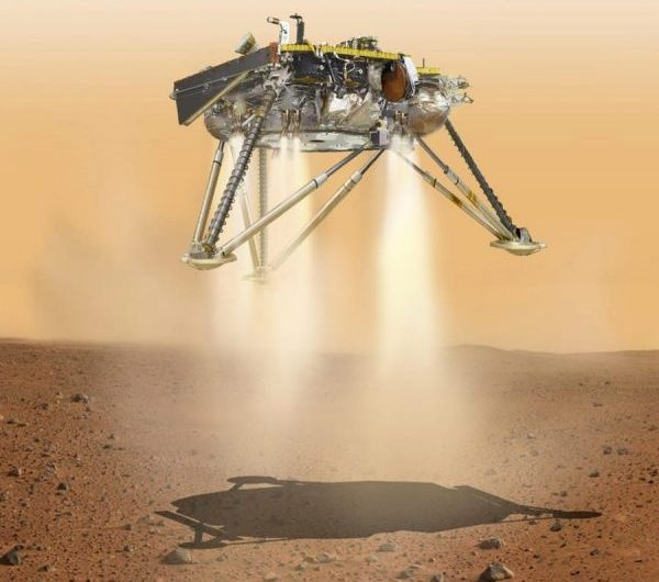 NASA's Insight Spacecraft starts sending data back to Earth