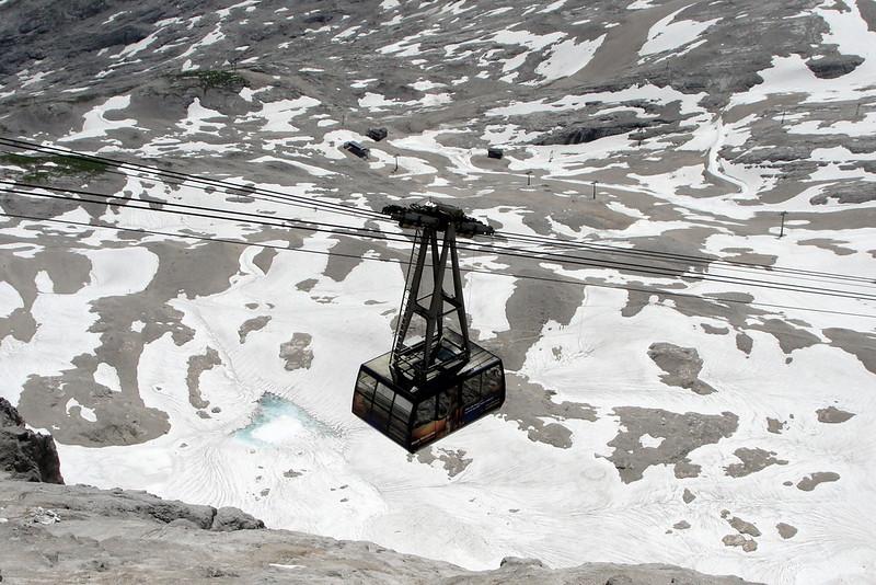 Zugspitze ski lifts