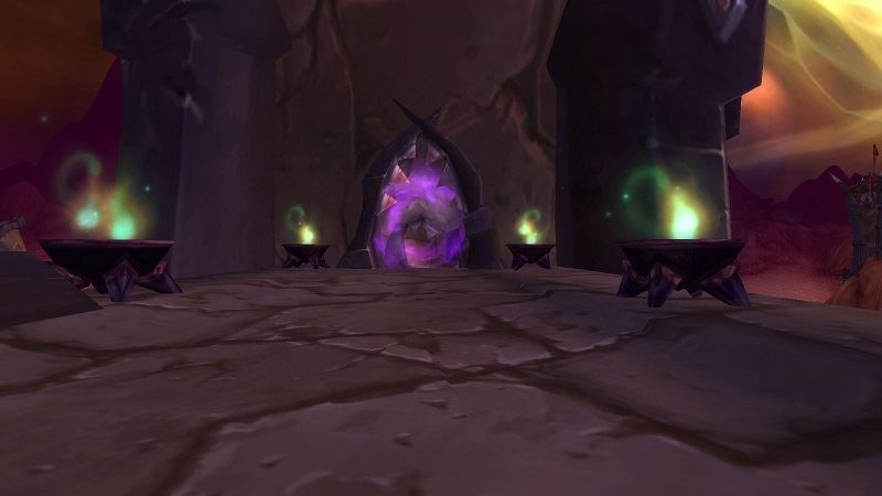 The Blood Furnace Dungeon