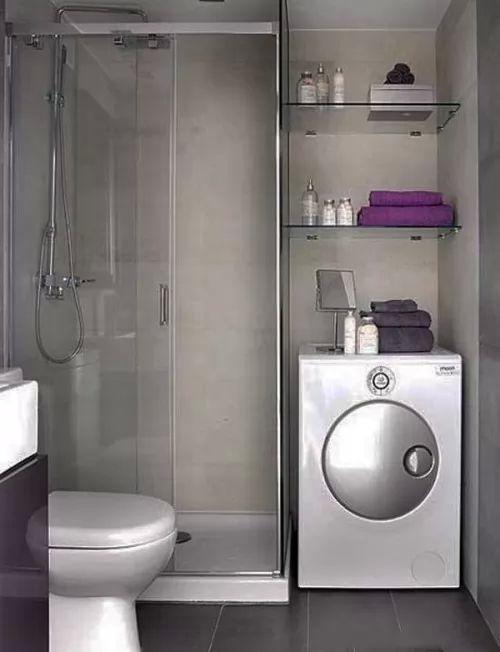 افكار وتصاميم ديكورات حمامات صغيرة بالصور