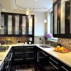 10x10 Kitchen Remodel Single Handle Pulldown Faucet افكار وتصميمات مطابخ صغيرة المساحة بالصور | سحر الكون