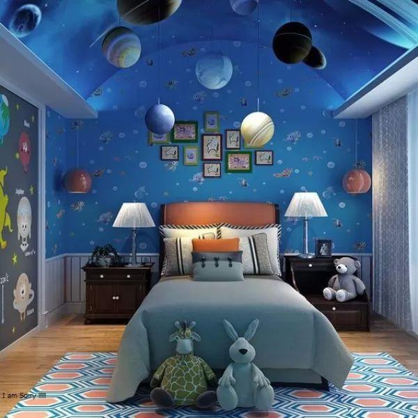 لمحة عن احدث تصاميم جبس غرف نوم الاطفال سحر الكون