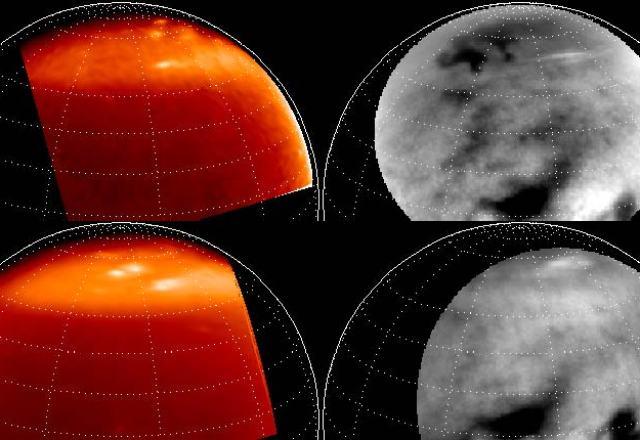 nuvens Titã