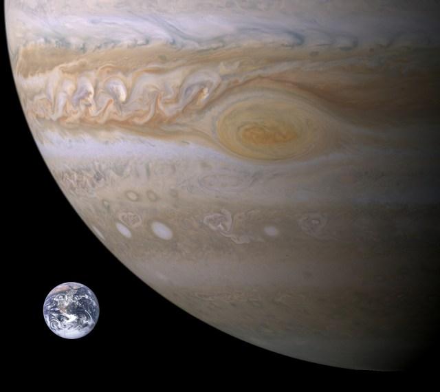 Jupiter-Terra