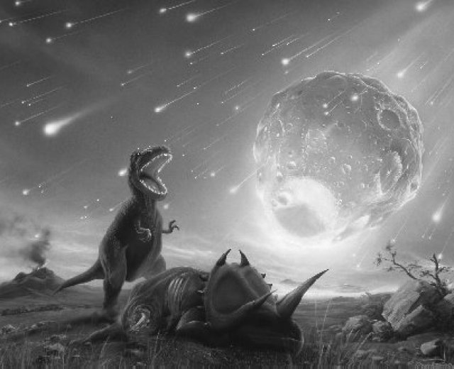 dinossaur asteroid
