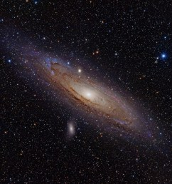 andromeda shredded and consumed a massive galaxy about two billion years ago [ 1200 x 788 Pixel ]