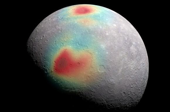 planet mercury surface gravity - photo #4