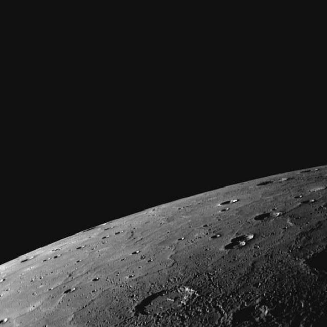 Mercury close up