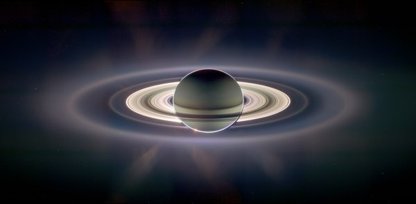 Cassini Saturn Earth