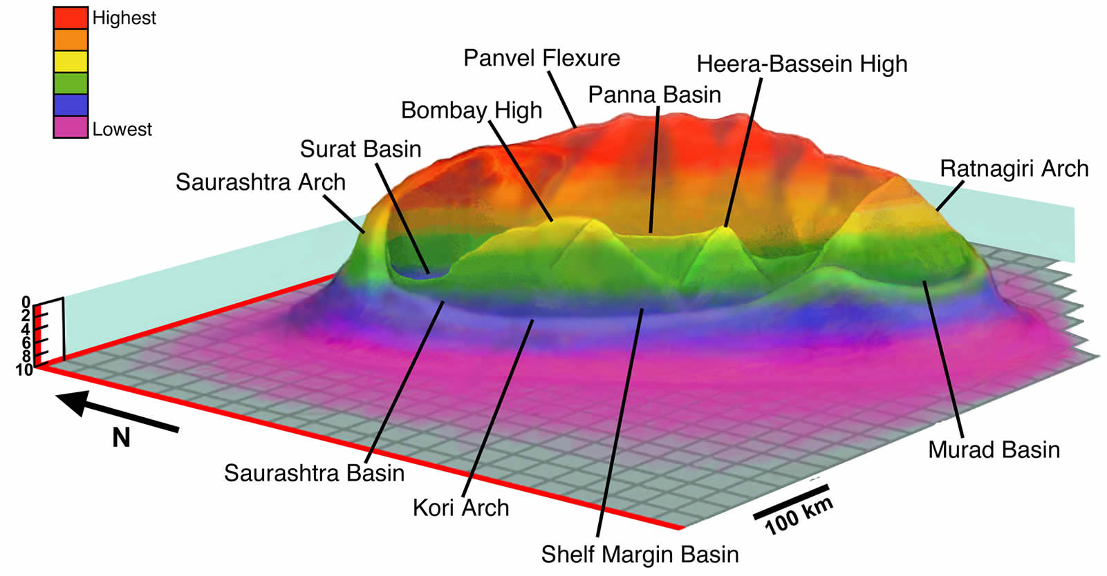 hight resolution of giant impact near india not mexico may have killed dinosaurs