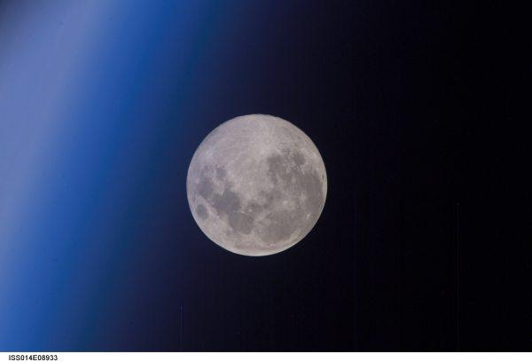 Full Moon From Earth NASA