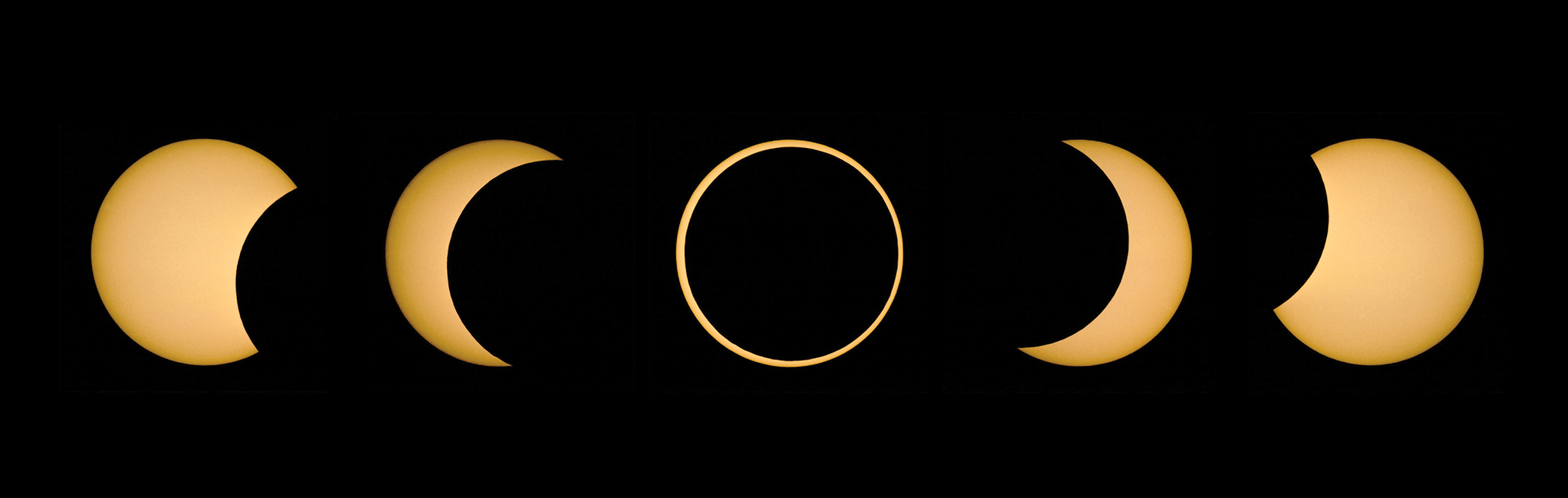 Ring Of Fire Annular Solar Eclipse On May 20