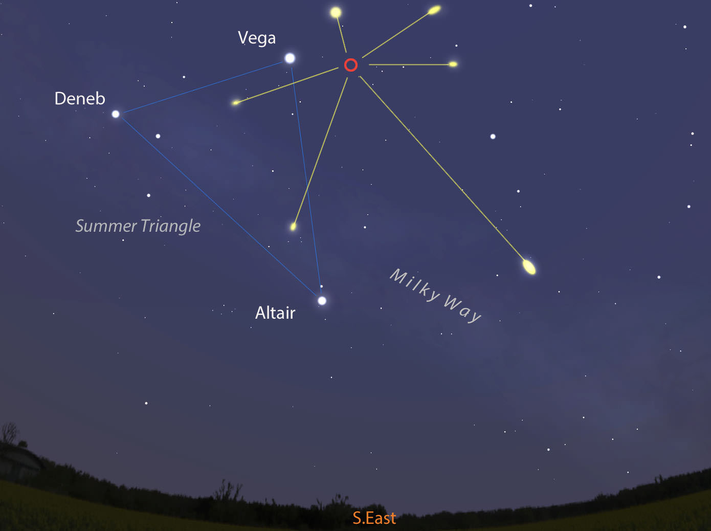 This Weekends Lyrid Meteor Shower How to See It