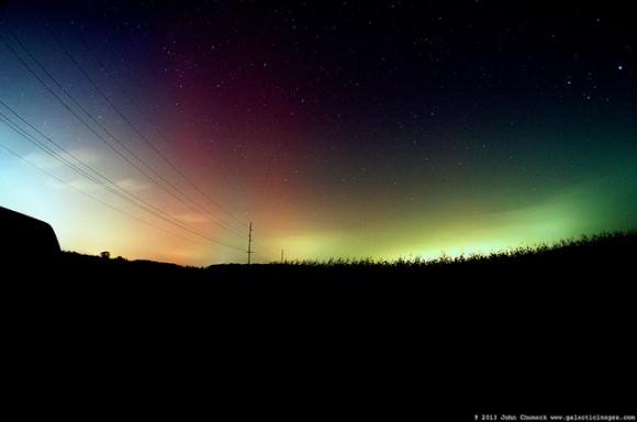 Northern Lights Ohio Tonight