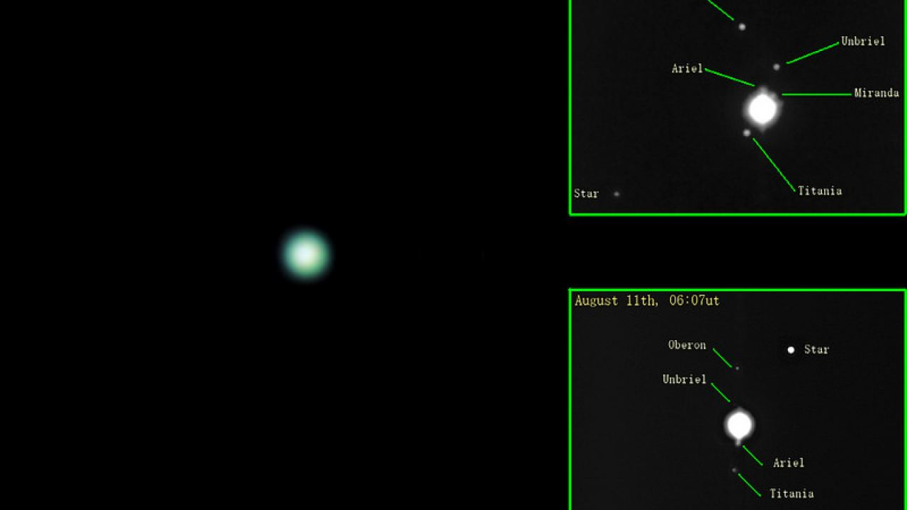 hight resolution of uranus a guide to its 2013 opposition