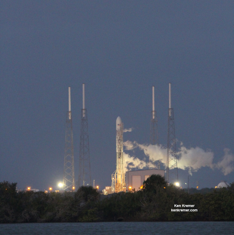 Upper Stage Engine Restart Essential to High Stakes SpaceX ...