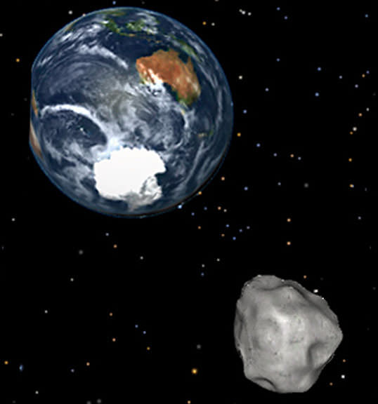 shooting asteroids from earth view - photo #19