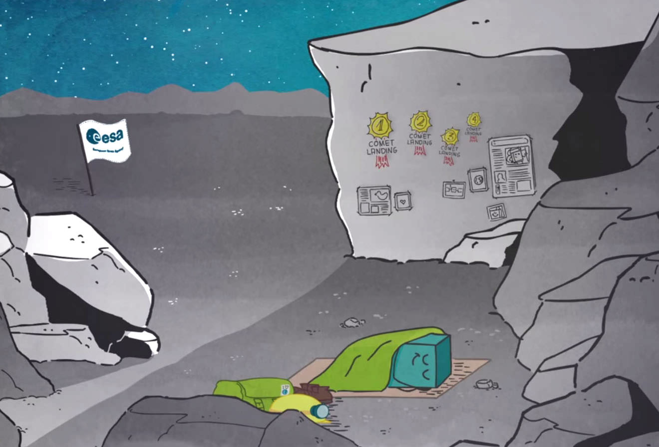 Philae Wakes Up, Makes Contact!
