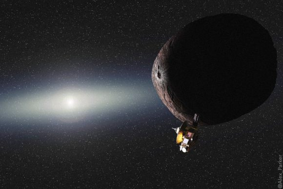 New Horizons Phones Home, Flyby a Success