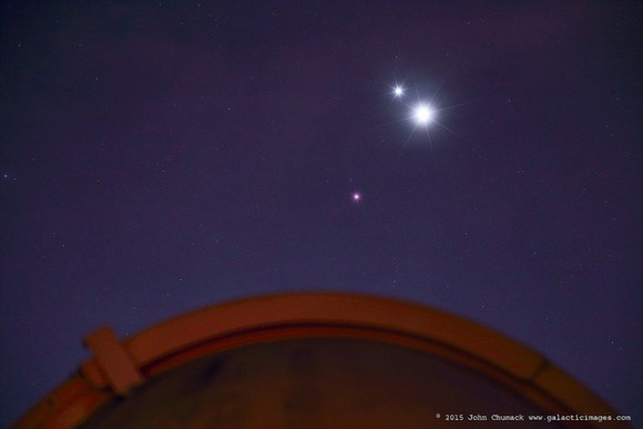 Stunning Planetary Trio Pictures From Around The World
