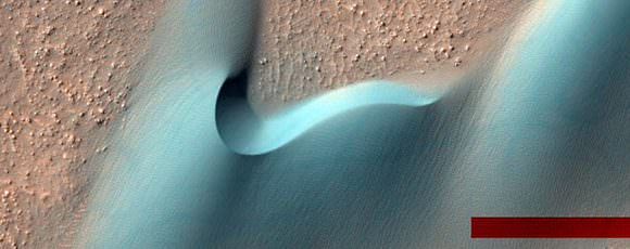 Dunes Within Arkhangelsky Crater. Credit: NASA/JPL/University of Arizona
