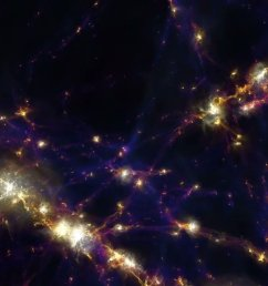 the first results from the illustristng simulation of the universe has been completed showing how our cosmos evolved from the big bang [ 1200 x 673 Pixel ]
