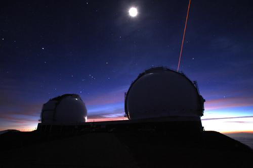 L'Osservatorio Keck è composto da 2 telescopi, Keck 1 e Keck 2, a Mauna Kea, nelle Hawaii. Immagine di credito: Keck Observatory / Joey Stein.