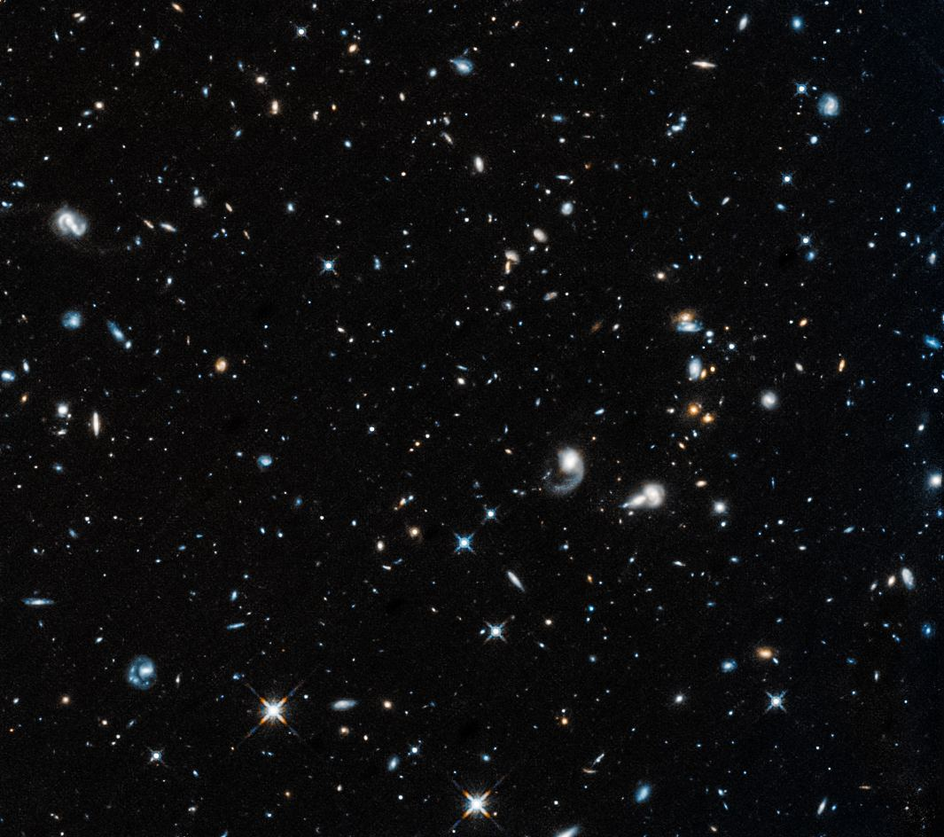 hubble s first picture