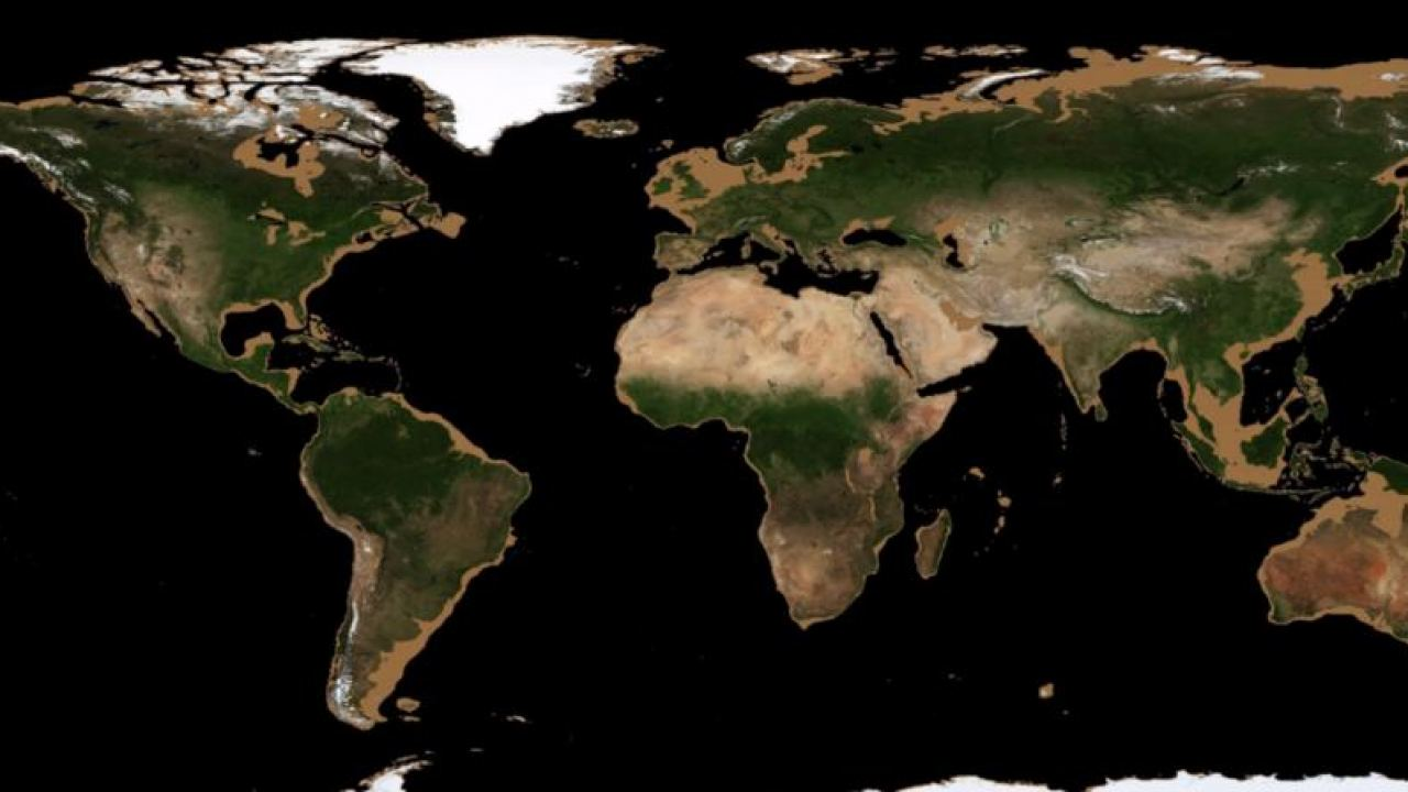 Google earth is an example of this ongoing effort. This Is What The World Would Look Like If The Oceans Dried Up Universe Today