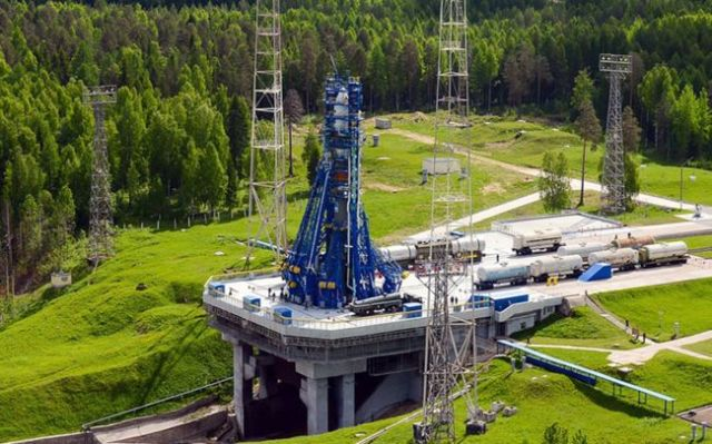 The Russian satellites were launched from the Plesetsk Cosmodrome in northern Russia. Image Credit: Roscosmos
