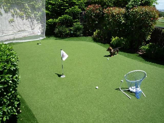 Putting green synthtique real golf pro Gazon et pelouse