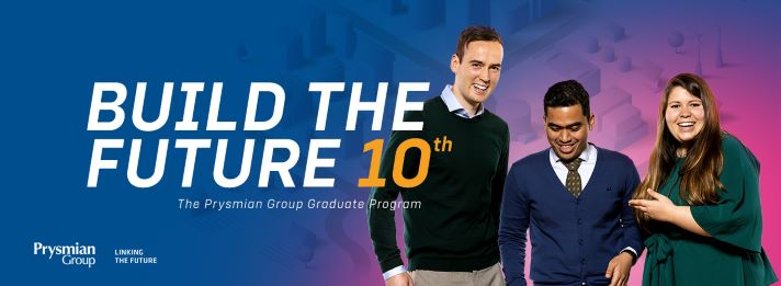 Prysmian Group lanza la edición 2021 de su programa de graduados. ¿Listo para emprender un nuevo viaje?