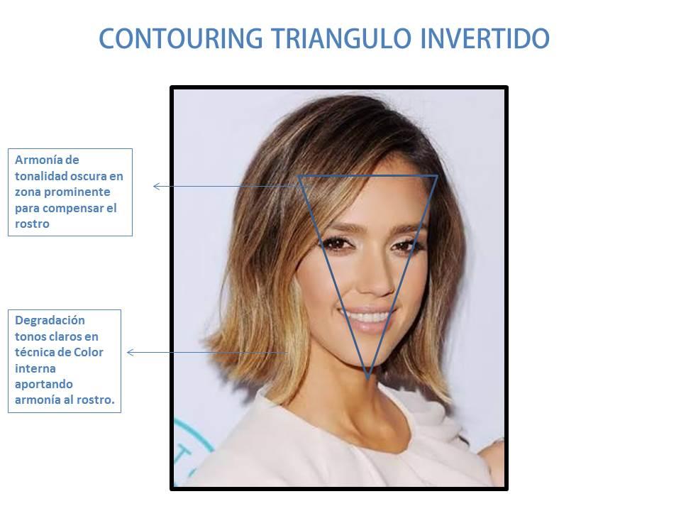 CONTOURING TRIANGULO INVERTIDO