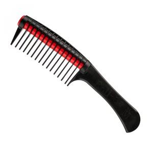 Peine especial con rodillo para aplicación de coloración en peluquería