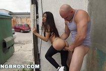 Porno Veronica Rodriguez novinha latina fodendo na rua