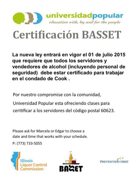 universidad popular announces basset certification! | ¡escucha ...