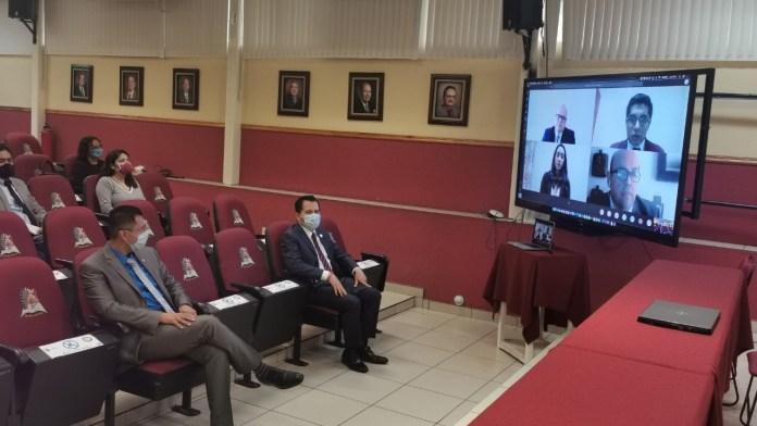 El Instituto Tecnológico de Morelia, celebró la primera transmisión en vivo de un examen recepcional de la institución