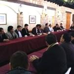 reunión de directores con nuevas autoridades universitarias