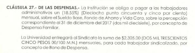 Contrato Colectivo de Trabajo del SUEUM