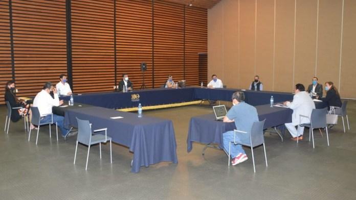 Reunión de autoridades universitarias de la Universidad Michoacana de San Nicolás de Hidalgo