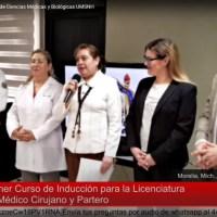 La Facultad de Medicina de la UMSNH, primera en realizar su Curso de Inducción a Distancia