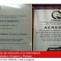 Concluyó la Facultad de Medicina de la UMSNH sus cursos de inducción y pruebas psicométricas