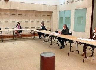 La Confederación Nacional de Trabajadores Universitarios, sustuvo reunión con funcionarios de la subsecretaría de educación superior de la SEP del gobierno federal.